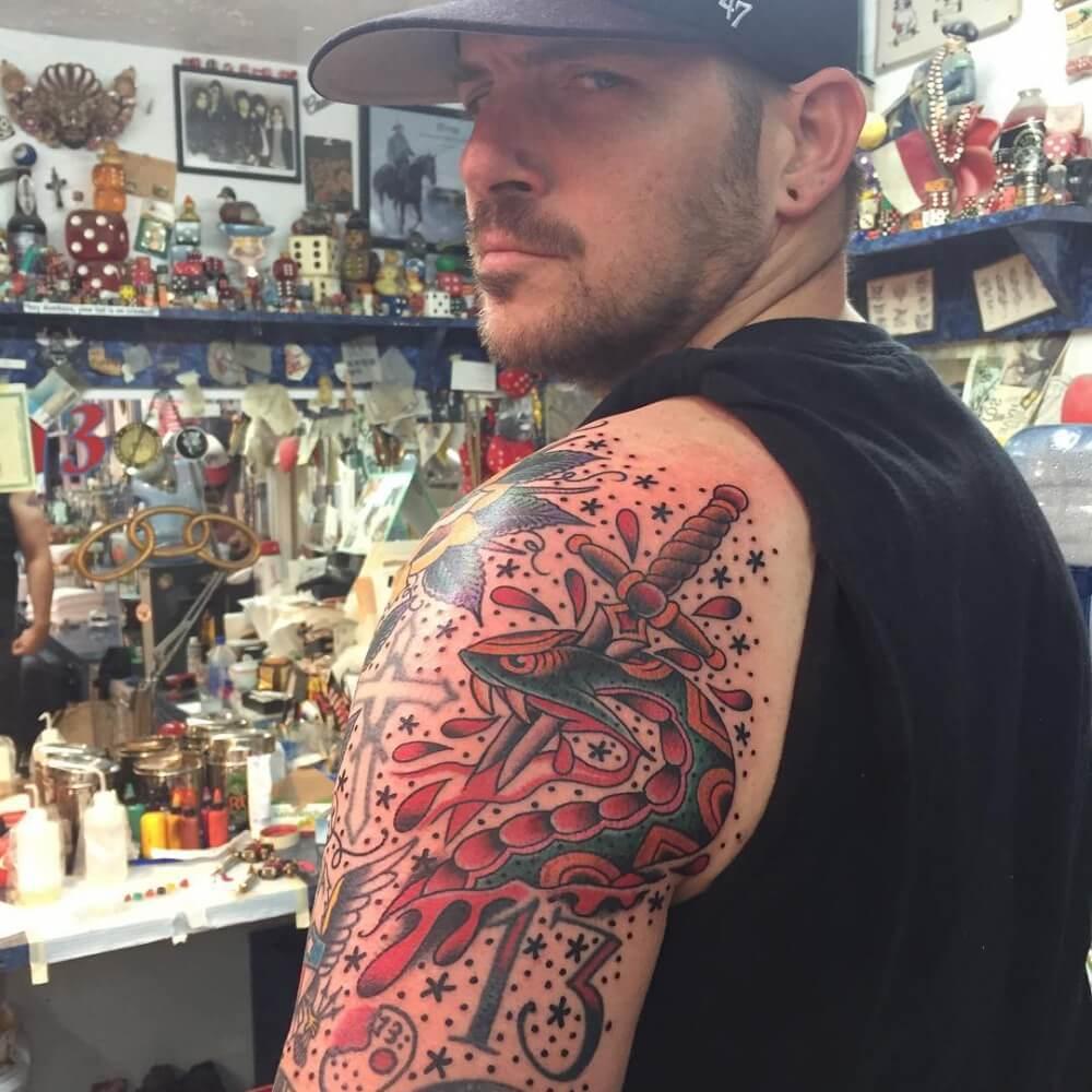 Oliver Peck Tattoos Gallery Oliver Peck - Elm Stre...